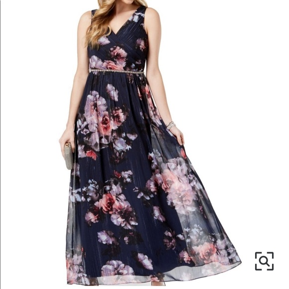 SLNY Dresses & Skirts - SLNY Floral Maxi Dress
